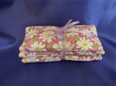 Lavender Dryer Sachet Set of 3 Organic French by greenlioness, $6.50