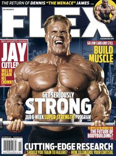 Flex Magazine cover November 2012 featuring Jay Cutler #fitness #bodybuilding #exercise