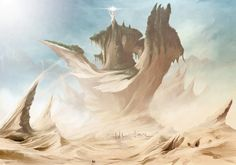 Popular All Time - Your spot for viewing some of the best pieces on DeviantArt. Be inspired by a huge range of artwork from artists around the world. Fantasy Landscape, Landscape Photos, Landscape Art, Fantasy Art, Sci Fi Environment, Futuristic City, Alien Worlds, Fantasy Setting, Fairytale Art
