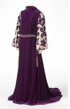 Hooded gown - Liberty & Co.  British, c. 1929    Artist/s name  LIBERTY &  CO.