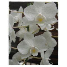 White orchid puzzle #zazzle #orchid #flower