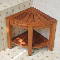Barrel Furniture, Wooden Pallet Furniture, Small Furniture, Wooden Decor, Handmade Furniture, Diy Furniture, Corner Table Living Room, Laminate Flooring Prices, Teak Shower Stool