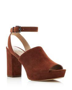 e0e255d0b4cb Via Spiga Julee High Heel Platform Sandals Shoes - All Shoes -  Bloomingdale s
