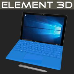 Microsoft Surface Pro 4, Best Smartphone, Models, 3d, Templates, Modeling, Fashion Models