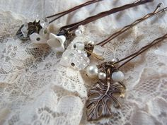 handmade accessory crafts beads   hairpin  Bobby Pin