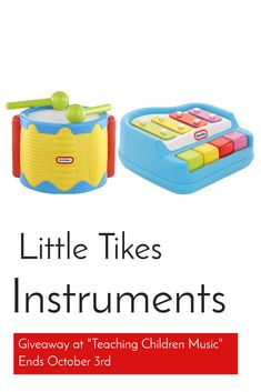 Little Tikes Tap a Tune  Piano and Drum Giveaway