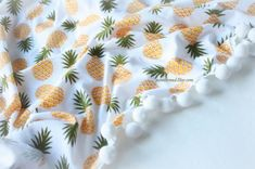 Pineapple Baby Clothes Pineapple Baby Blanket Pineapple Baby