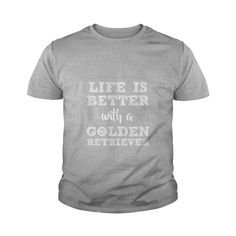 Golden Retriever - Life is better with a Golden Re LIMTED EDITION #gift #ideas #Popular #Everything #Videos #Shop #Animals #pets #Architecture #Art #Cars #motorcycles #Celebrities #DIY #crafts #Design #Education #Entertainment #Food #drink #Gardening #Geek #Hair #beauty #Health #fitness #History #Holidays #events #Home decor #Humor #Illustrations #posters #Kids #parenting #Men #Outdoors #Photography #Products #Quotes #Science #nature #Sports #Tattoos #Technology #Travel #Weddings #Women