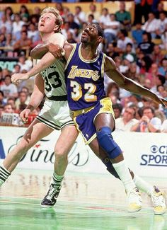 magic johnson vs larry bird