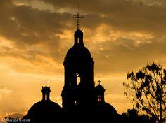Iglesia de La Cruz #queretaro #mexico #photo #color #streetphotography #church #architecture #photography #downtown #unesco #heritage