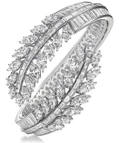 Harry Winston Diamond Bangle bracelet. way too fancy for anything i'd go to, but i love this