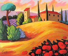 Soleil de Toscane - Louise Marion