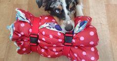 Nähanleitung für eine Hundedecke/Picknickdecke.