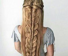 Hairstyle por MarocainDresses en We Heart It