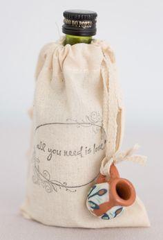 Custom printed burlap sacks