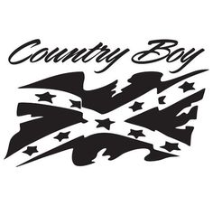 Rebel Laptop Car Truck Vinyl Decal Window Sticker PV General - Country boy decals for trucks