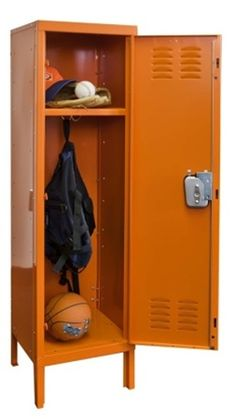 Buy a low priced metal locker today to help your kid get organized. The Shelving Store.