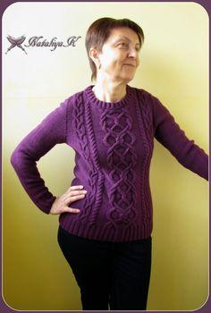 Мой маленький вязаный мир: Пуловер для мамы из Phildar №63 2011 г.