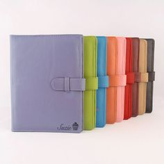 This large genuine leather PadFolio is available in a wide variety of colors to hold your letter sized A4 note pad, business cards, pen and notes. Personalise your PadFolio with a laser engraving design of your name, initials or monogram. Leather may also be left plain.  Product Specifications: - PadFolio size approx 24.2cm x 32.2cm (9.5 x 12.7) - Designed to hold a 21.0 cm × 29.7 cm (8.3 × 11.7) top opening note pad. - Genuine Sheep Leather with sponge lining for a softer feel.  Features…