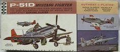 Hawk 1/48 Chrome Plated P-51D Mustang Fighter USAF - Canadian or Philippine Air Forces, 208-200 plastic model kit