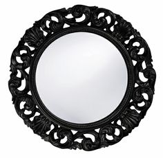 Riley Round Mirror - Multiple Colors
