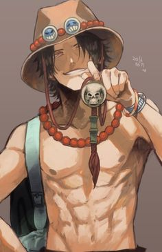 Ace From The One Piece Anime