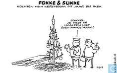 Fokke en Sukke - Ikea kerstboom