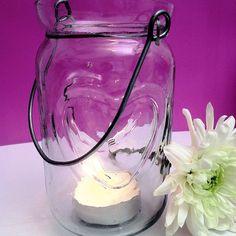 jam jar tea lights