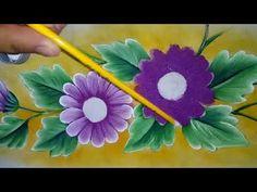 Pintando Margaritas con alfre severo. - YouTube