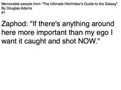 Ultimate Hitchhiker's Guide to the Galaxy Quote #1