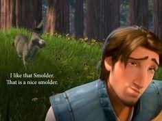 The smolder!