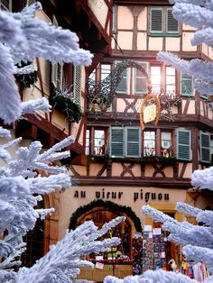 Christmas in Colmar Alsace, France Christmas In Europe, French Christmas, Christmas Markets, Christmas Christmas, Alsace France, Paris France, France Europe, The Places Youll Go, Places To Go
