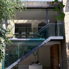 Modern extension with balcony | Modern extensions | Extension ideas | PHOTO GALLERY | housetohome.co.uk