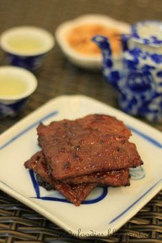 Eat Your Heart Out: Recipe: Bak Kwa (Homemade Chinese Pork Jerky) 肉干
