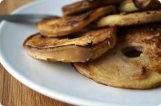 Gezonde appelschijfjespannenkoeken