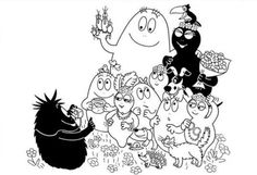 18 Best Barbapapa Coloring Pages images