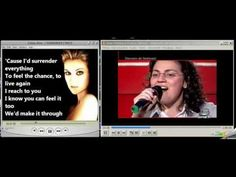 VIDEO -- SUOR CRISTINA I SURRENDER WITHOUT CELINE DION