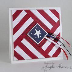 patriotic handmade cards - Google Search