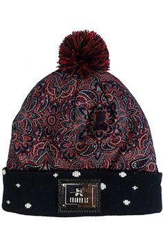 Eclectus Beanie by Entree LS