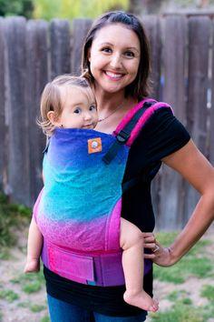 (Standard Size) Half Wrap Conversion Tula Baby Carrier - Oscha Andaluz Hana