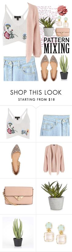 """""""A little leopard"""" by averytheleapinglizard ❤ liked on Polyvore featuring Topshop, Charlotte Russe, Miss Selfridge and Bahne"""