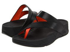 aa5c8c63efb2 FitFlop Sling™ Leather Black - Zappos.com Free Shipping BOTH Ways Stylish  Shoes For