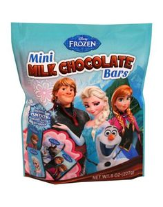 Satisfy your sweet tooth with Frozen Mini Milk Chocolate Bars! These Frozen candy bars come in wrappers printed with all of your favorite characters. Baby Dolls For Kids, Little Girl Toys, Toys For Girls, Frozen Themed Birthday Party, Frozen Party, Frozen Movie, Olaf Frozen, Birthday Parties, Birthday Cake