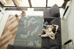 Pick a rug that works hard so you don't have to.  When purchasing a rug it's important to keep in mind if the area you're placing it will be a high traffic area or not. For high-traffic areas, it's best to look for a rug that is both durable and easy to clean.   Wool is a great option to use in high traffic areas as it's both durable and easy to clean all while looking soft and luxurious. Have a question on which rug will be best in your space? Leave us a comment down below!  Living Room Decor Inspiration, Colorful Rugs, Cotton Canvas, Area Rugs, Mushroom, Kids Rugs, The Incredibles, Taupe, Wool