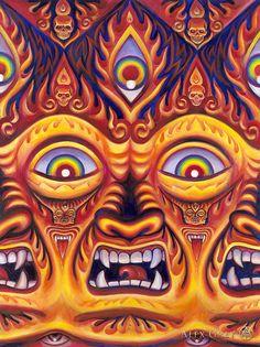 Alex Grey, Alex Gray Art, Ohio, Psy Art, Visionary Art, Psychedelic Art, Deities, Trippy, Art Pictures