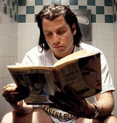 John Travolta in Pulp Fiction