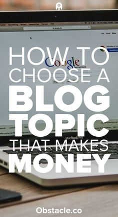 Want to learn how to make money blogging? Then you need to make sure you choose a topic that can make money at home. Here is how to make money blogging and work from home.