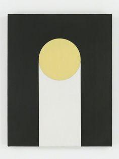 Alexander Liberman (Russian-American, 1912-1999), Circle Path, 1952. Oil on canvas, 71.1 x 55.9 cm.