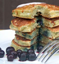 WOW this dairy free almond flour pancake recipe is unbelievable and a serious must try
