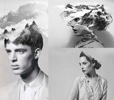 Surreal Digital Collages by Matt Wisniewski surreal portraits people multiple exposures manipulated digital collage